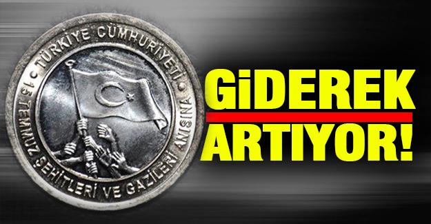 Atatürk resmi bulunmayan madeni para basımı giderek artıyor